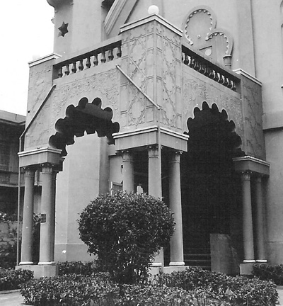 Temple Emil, Manila, April 1940