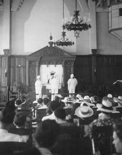 Temple Emil, Manila, April 1940 - Emil, Photo credit: Jewish Historical Society of San Diego
