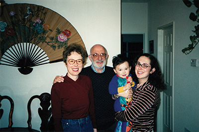 PJake's first Hannukah, San Francisco, 1998