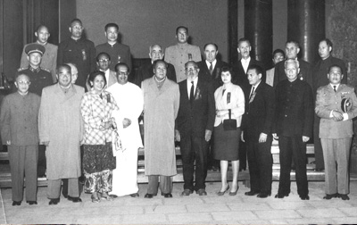 Cohen with Communist party leaders in Mainland China.